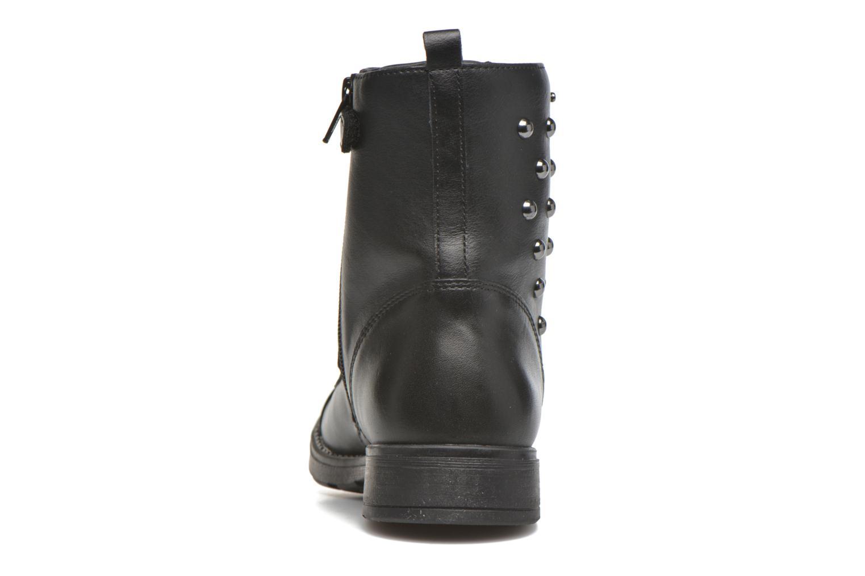 Bottines et boots Geox JR SOFIA J Noir vue droite