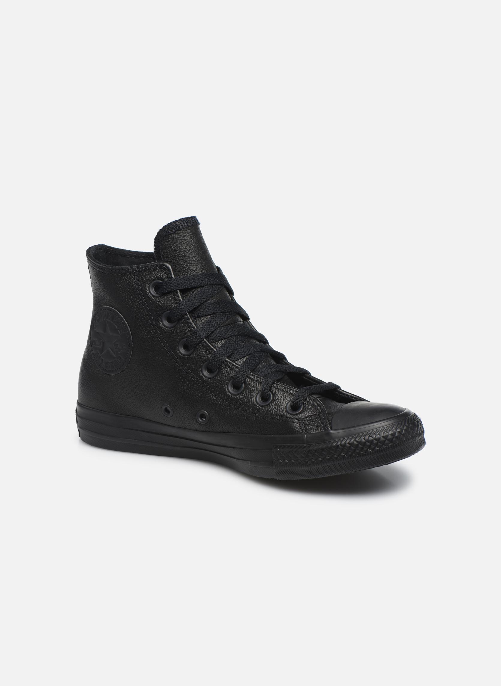 Baskets Femme Chuck Taylor All Star Mono Leather Hi W