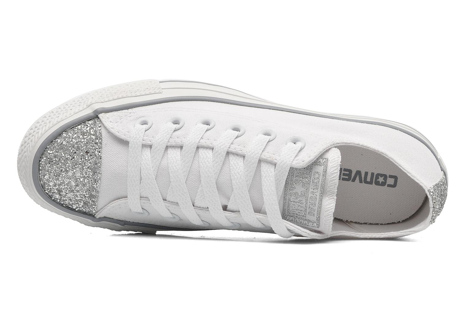 Sneakers Converse Chuck Taylor Toecap Sparkle Ox W Wit links