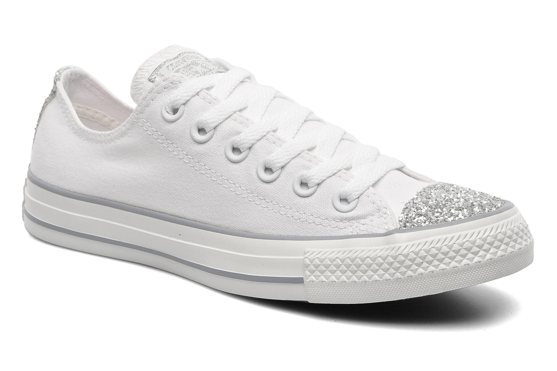 Sneakers Converse Chuck Taylor Toecap Sparkle Ox W Wit detail