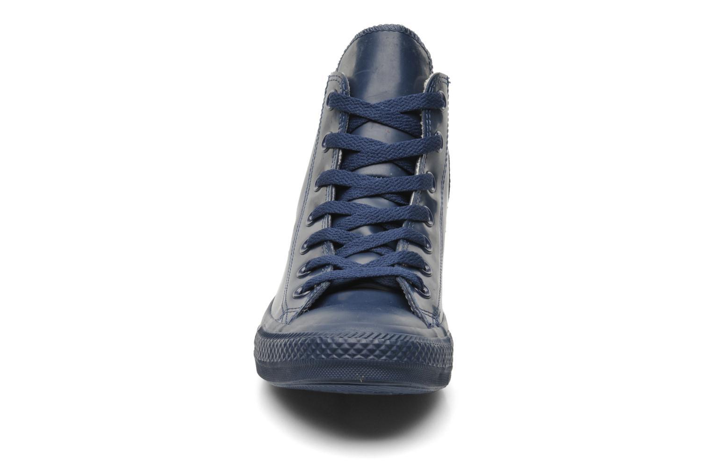 Sneaker Converse Chuck Taylor All Star Rubber Hi W blau schuhe getragen