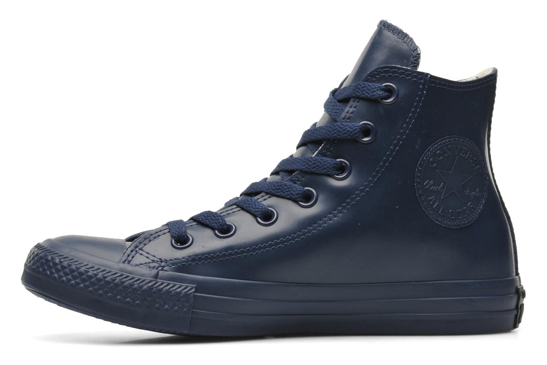 Sneaker Converse Chuck Taylor All Star Rubber Hi W blau ansicht von vorne