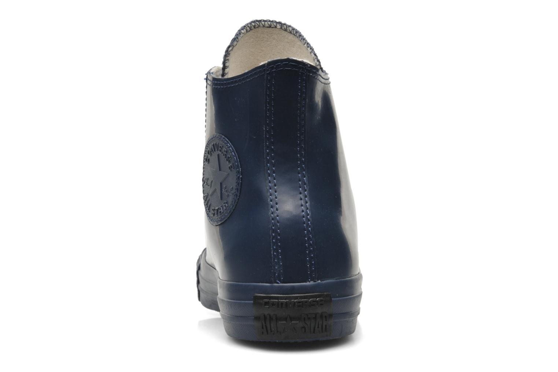 Sneaker Converse Chuck Taylor All Star Rubber Hi W blau ansicht von rechts