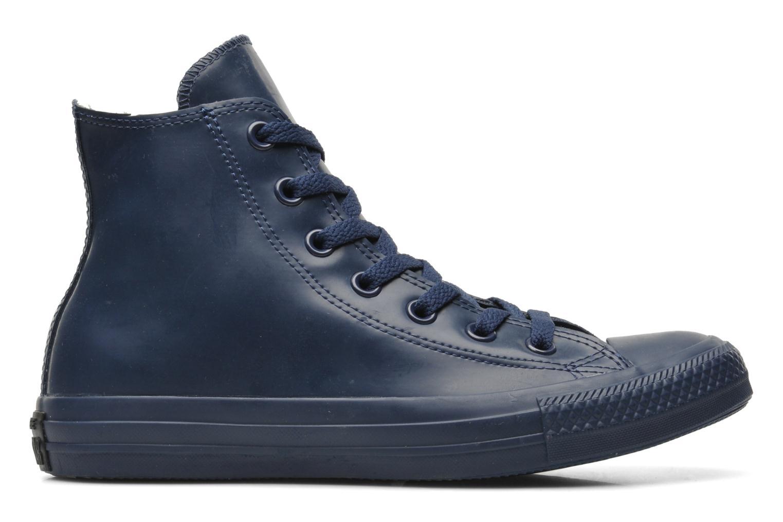 Sneaker Converse Chuck Taylor All Star Rubber Hi W blau ansicht von hinten