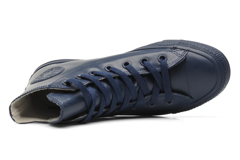 Sneaker Converse Chuck Taylor All Star Rubber Hi W blau ansicht von links