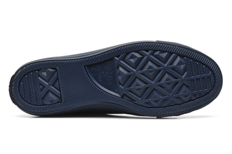 Sneaker Converse Chuck Taylor All Star Rubber Hi W blau ansicht von oben