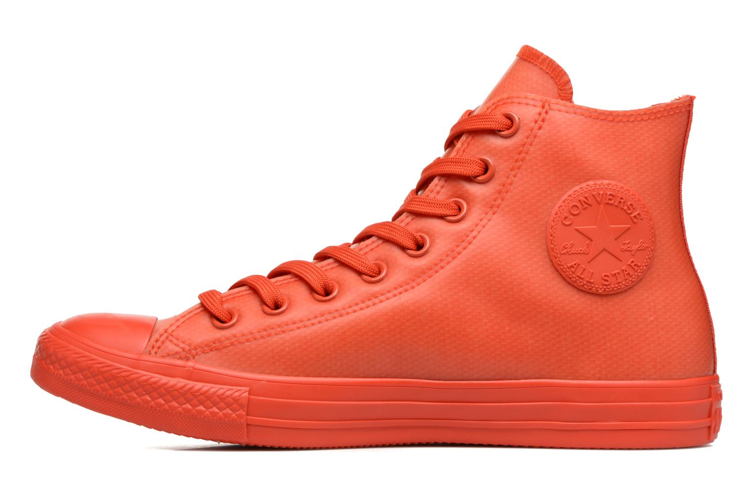 Sneakers Converse Chuck Taylor All Star Rubber Hi M Rød se forfra