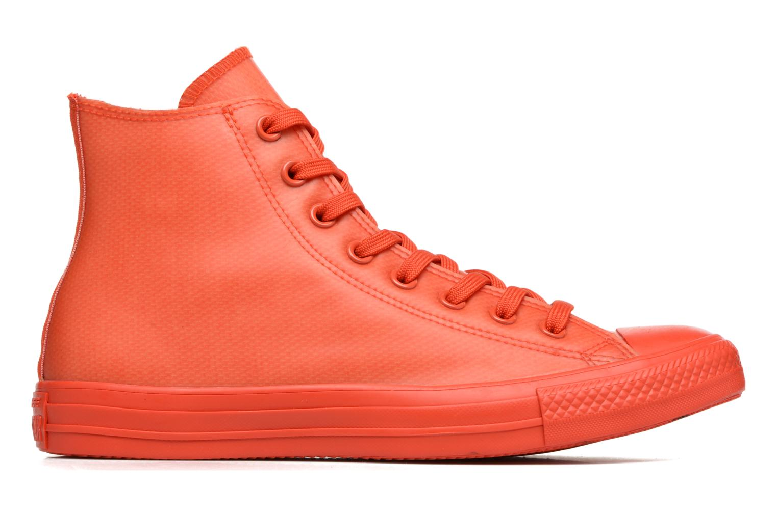 Sneakers Converse Chuck Taylor All Star Rubber Hi M Rød se bagfra