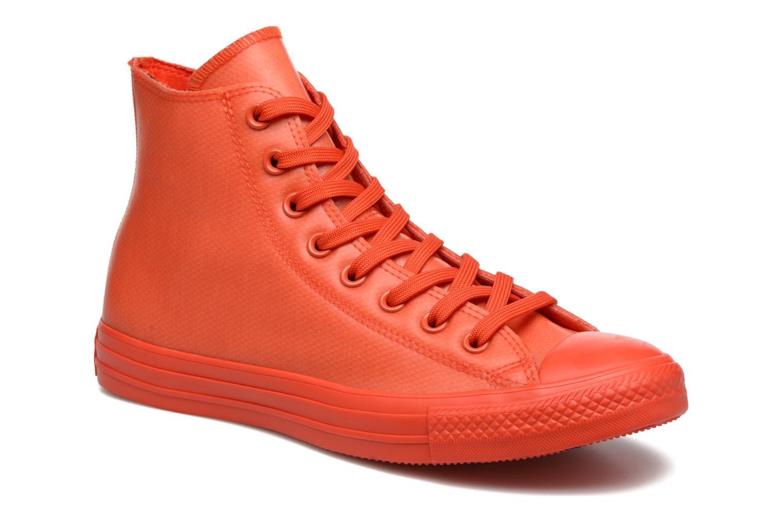 Sneakers Converse Chuck Taylor All Star Rubber Hi M Röd detaljerad bild på paret