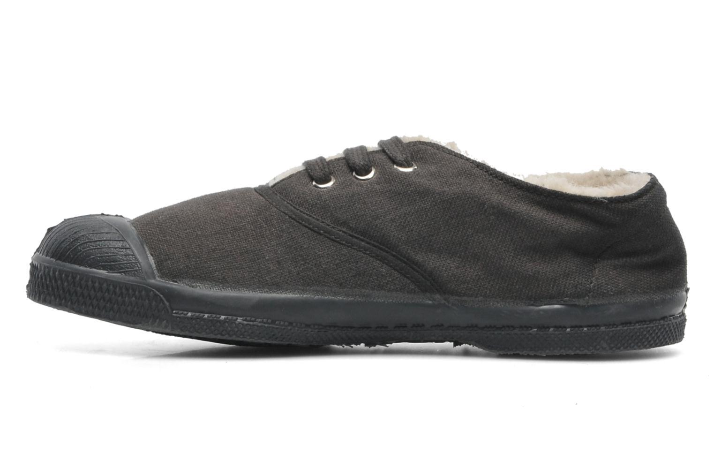 Sneakers Bensimon Tennis Lacets Fourrées E Grijs voorkant