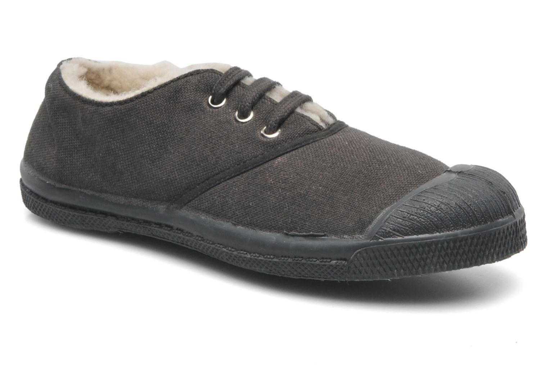 Sneakers Bensimon Tennis Lacets Fourrées E Grå detaljeret billede af skoene