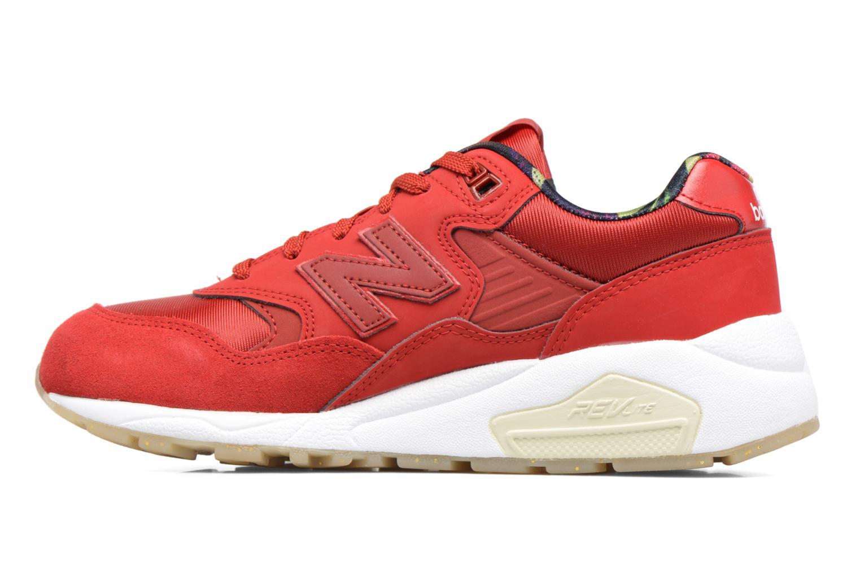 Sneakers New Balance WRT580 Rød se forfra