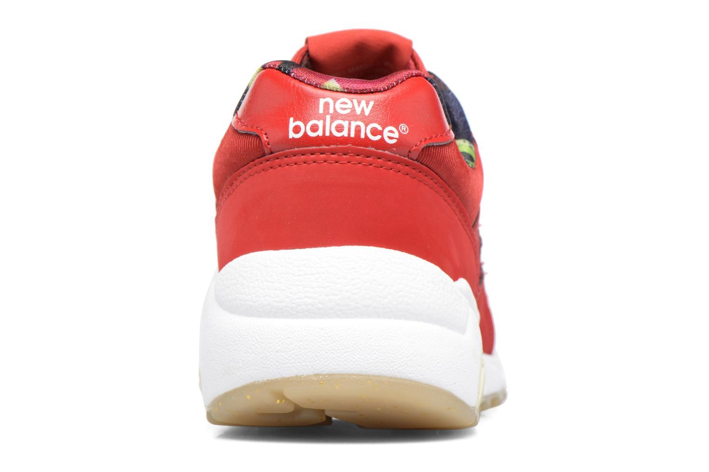 Baskets New Balance WRT580 Rouge vue droite