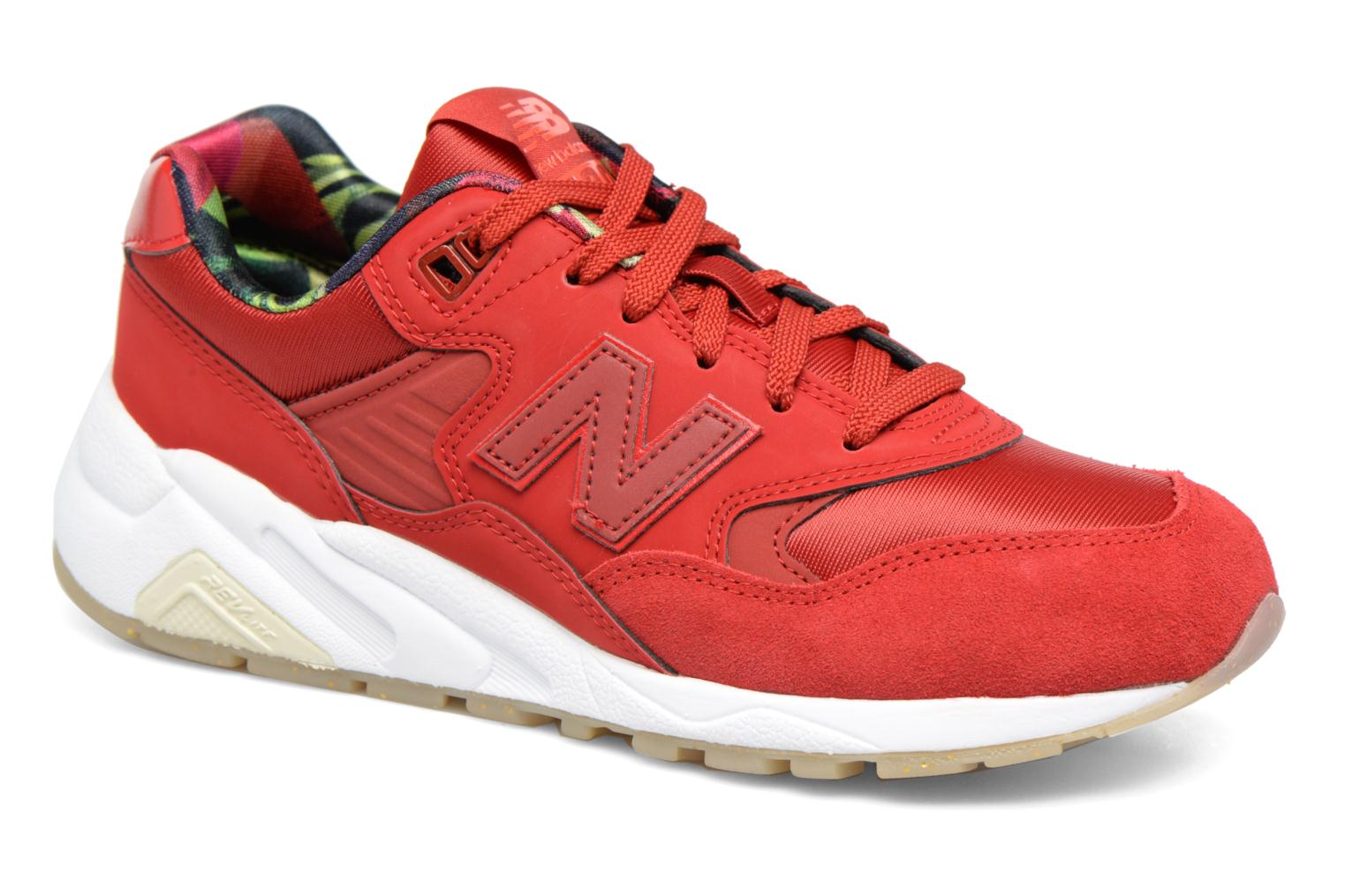 Trainers New Balance WRT580 Red detailed view/ Pair view