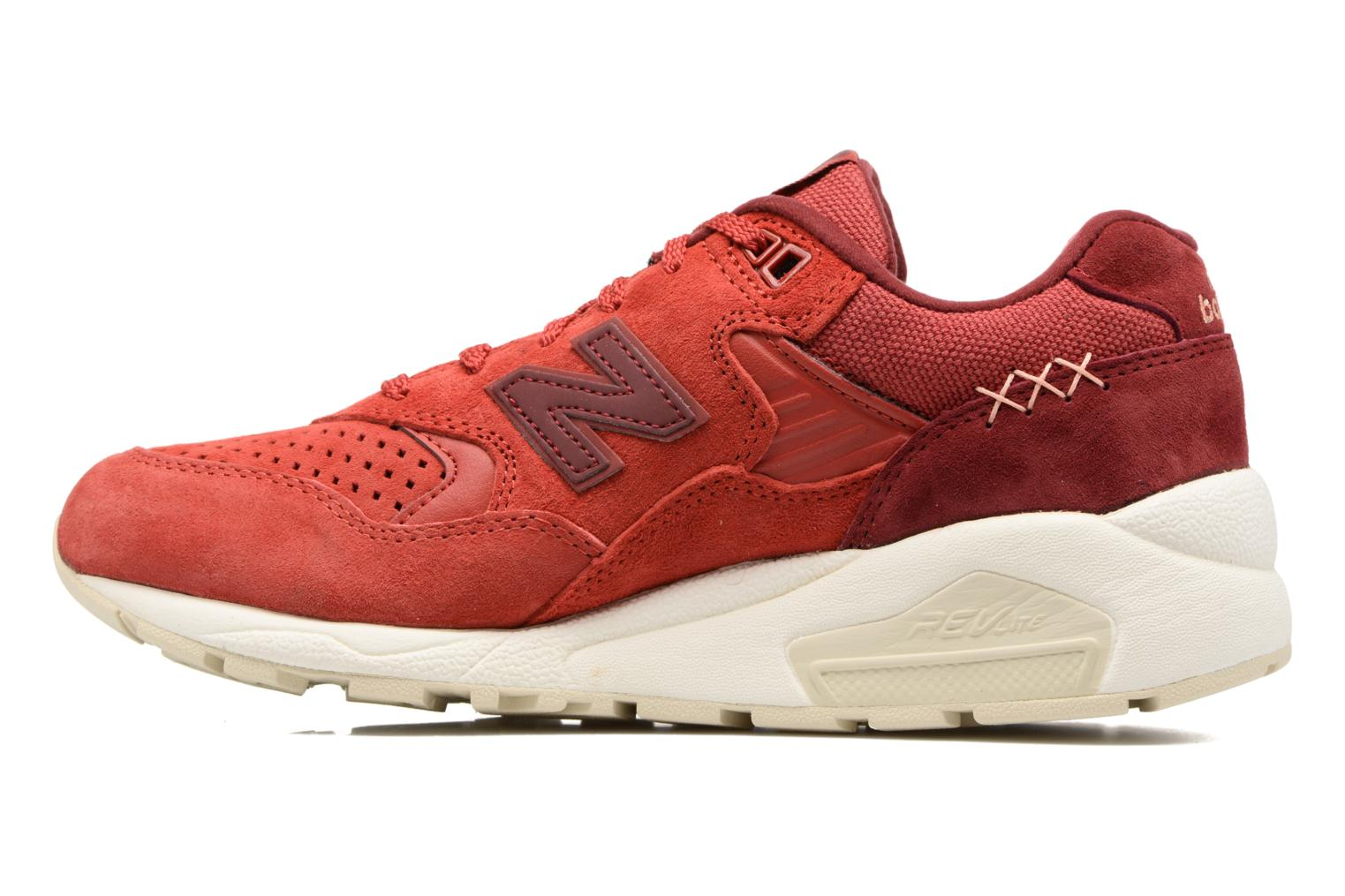 Sneakers New Balance WRT580 Rosso immagine frontale