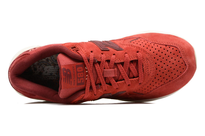 Baskets New Balance WRT580 Rouge vue gauche