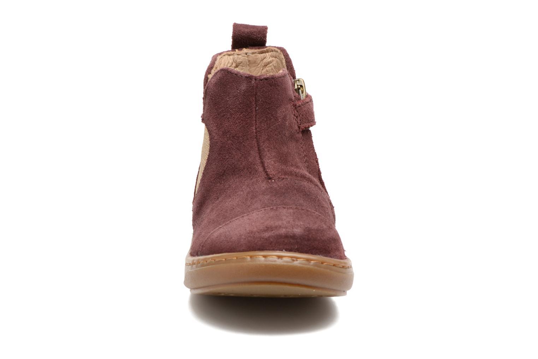 Bottines et boots Shoo Pom Bouba Apple Bordeaux vue portées chaussures