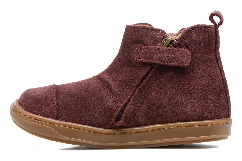 Bottines et boots Shoo Pom Bouba Apple Bordeaux vue face