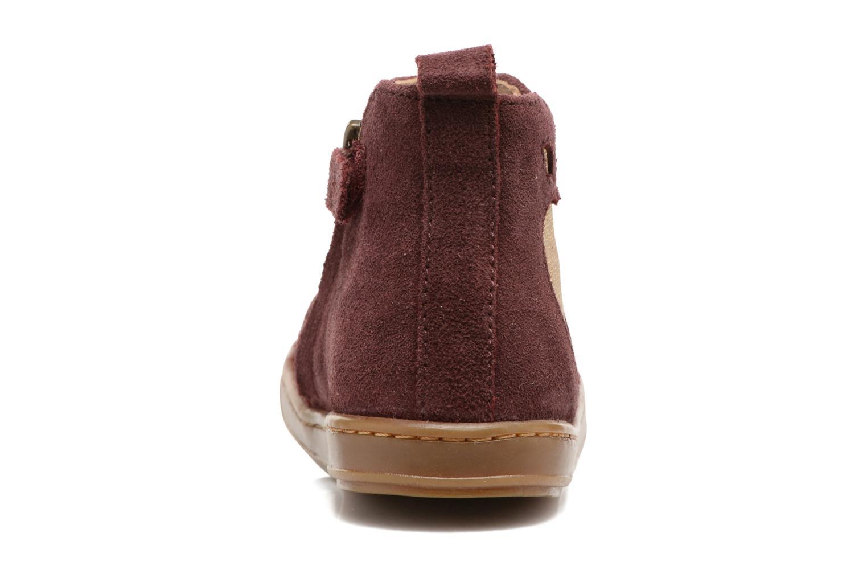 Bottines et boots Shoo Pom Bouba Apple Bordeaux vue droite