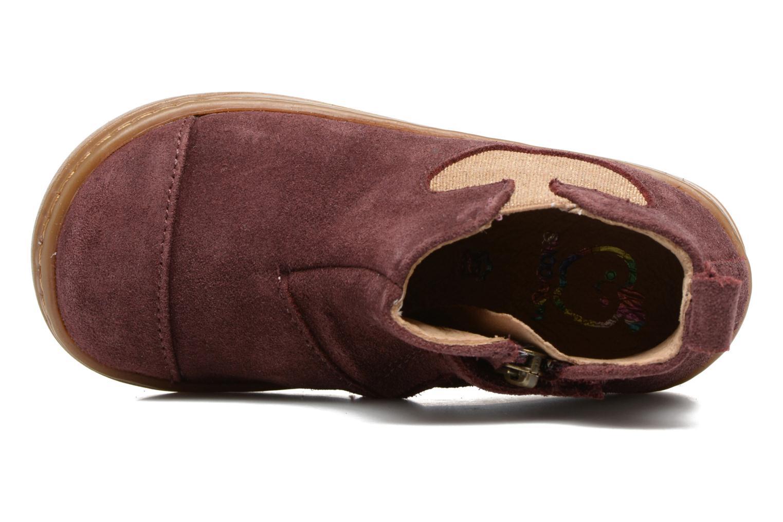 Bottines et boots Shoo Pom Bouba Apple Bordeaux vue gauche