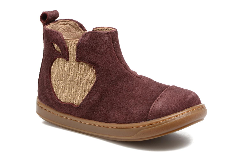 Bottines et boots Shoo Pom Bouba Apple Bordeaux vue détail/paire