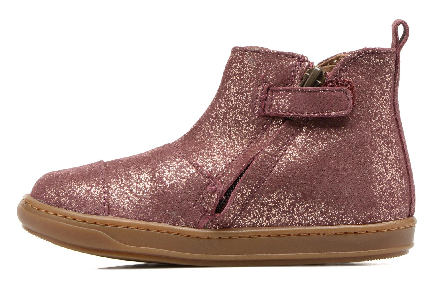 Ankle boots Shoo Pom Bouba Apple Pink front view