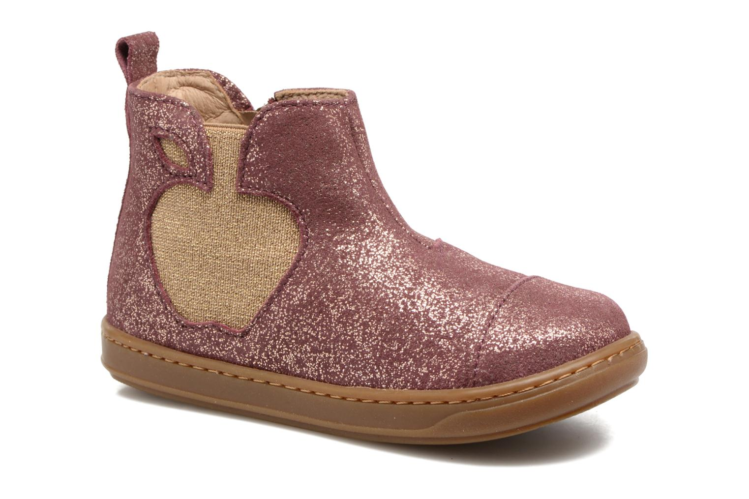 Ankle boots Shoo Pom Bouba Apple Pink detailed view/ Pair view