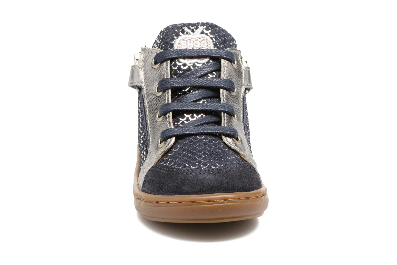 Bottines et boots Shoo Pom Bouba Bi Zip Argent vue portées chaussures