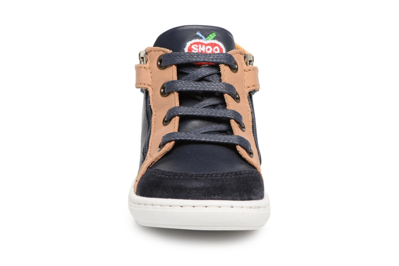 Ankle boots Shoo Pom Bouba Bi Zip Blue model view