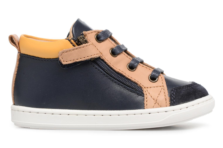 Boots en enkellaarsjes Shoo Pom Bouba Bi Zip Blauw achterkant