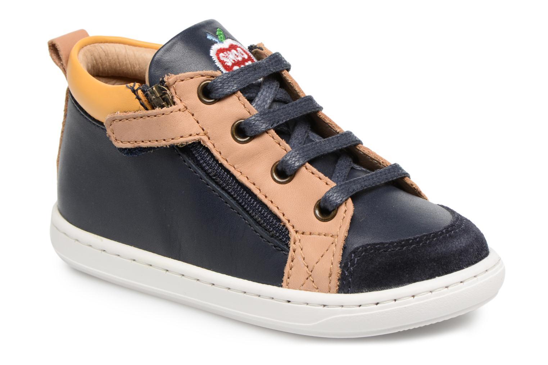 Boots en enkellaarsjes Shoo Pom Bouba Bi Zip Blauw detail