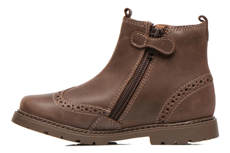 Boots en enkellaarsjes Start Rite Digby Bruin voorkant