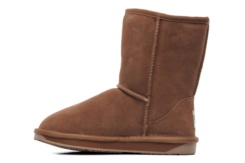 Boots en enkellaarsjes Boo roo Bliss Short Beige voorkant