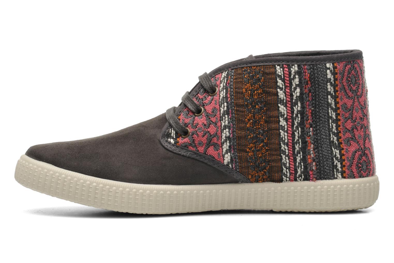 Sneaker Victoria Safari Tejidos Etnicos grau ansicht von vorne