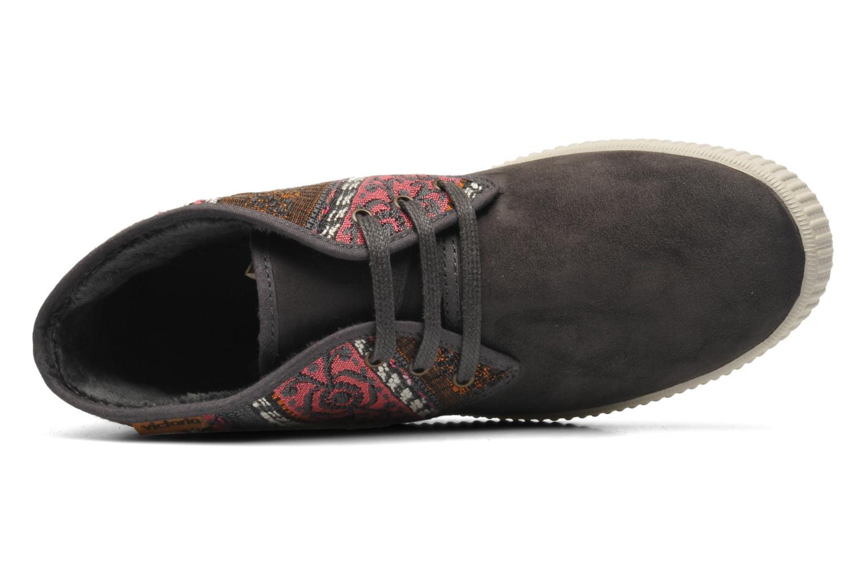 Sneaker Victoria Safari Tejidos Etnicos grau ansicht von links
