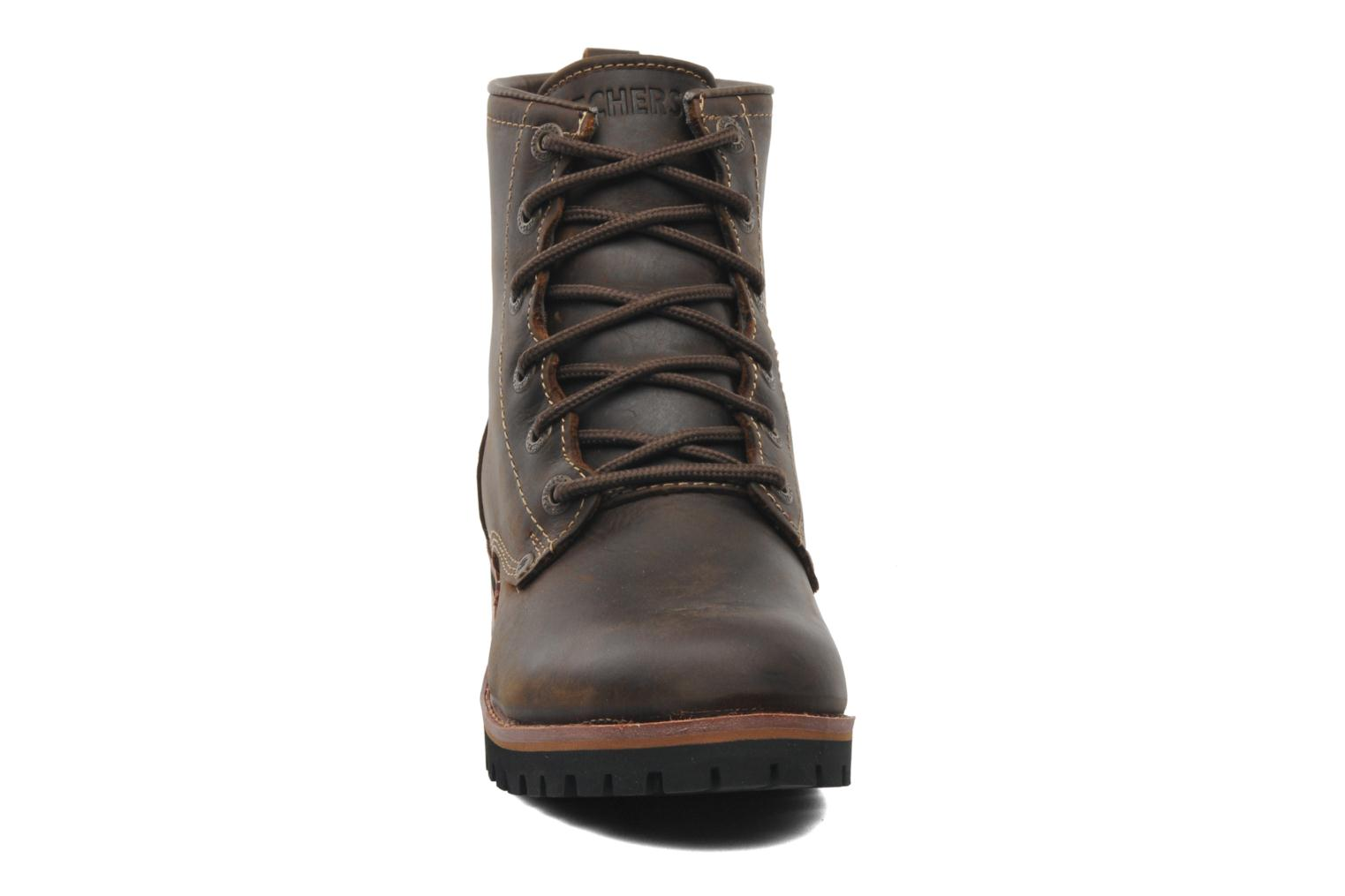 Ankle boots Skechers Laramie 2 47808 Brown model view