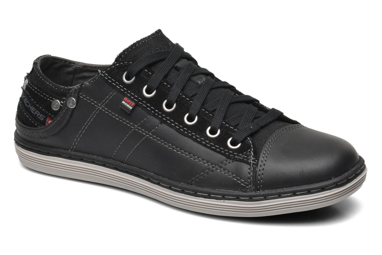 Deportivas Skechers Sorino Pantalone 64242 Negro vista de detalle / par