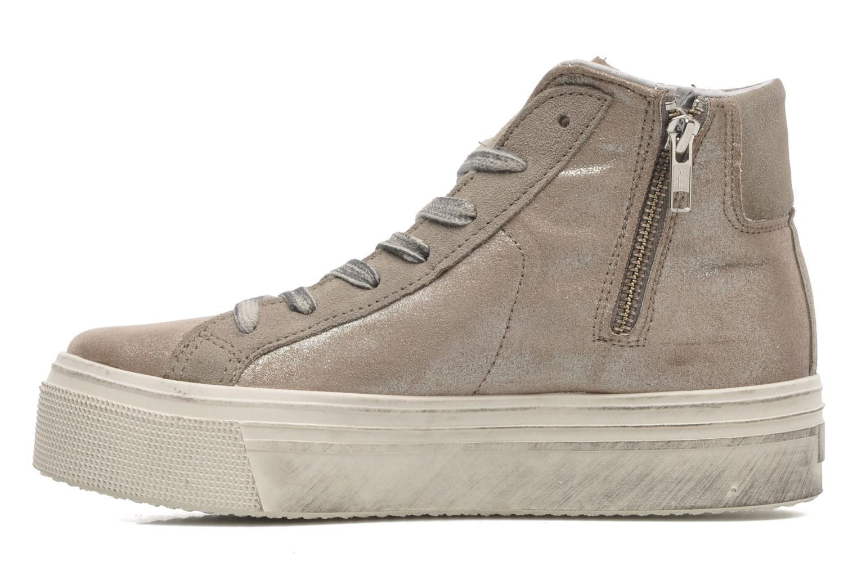 Sneaker No Box Bristol beige ansicht von vorne