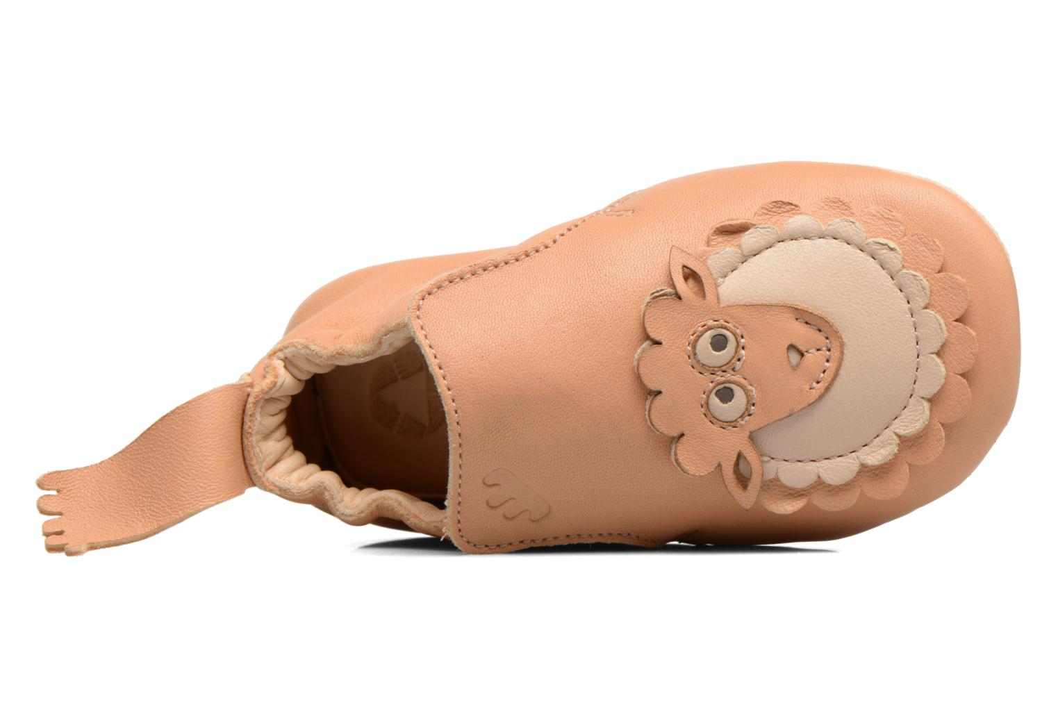 Slippers Easy Peasy BLUBLU PATIN MOUTON Beige view from above