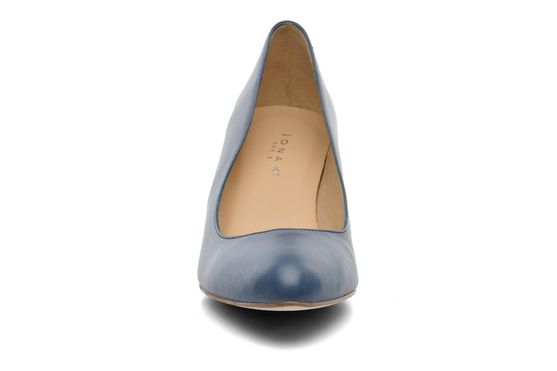 Escarpins Jonak Issine Bleu vue portées chaussures