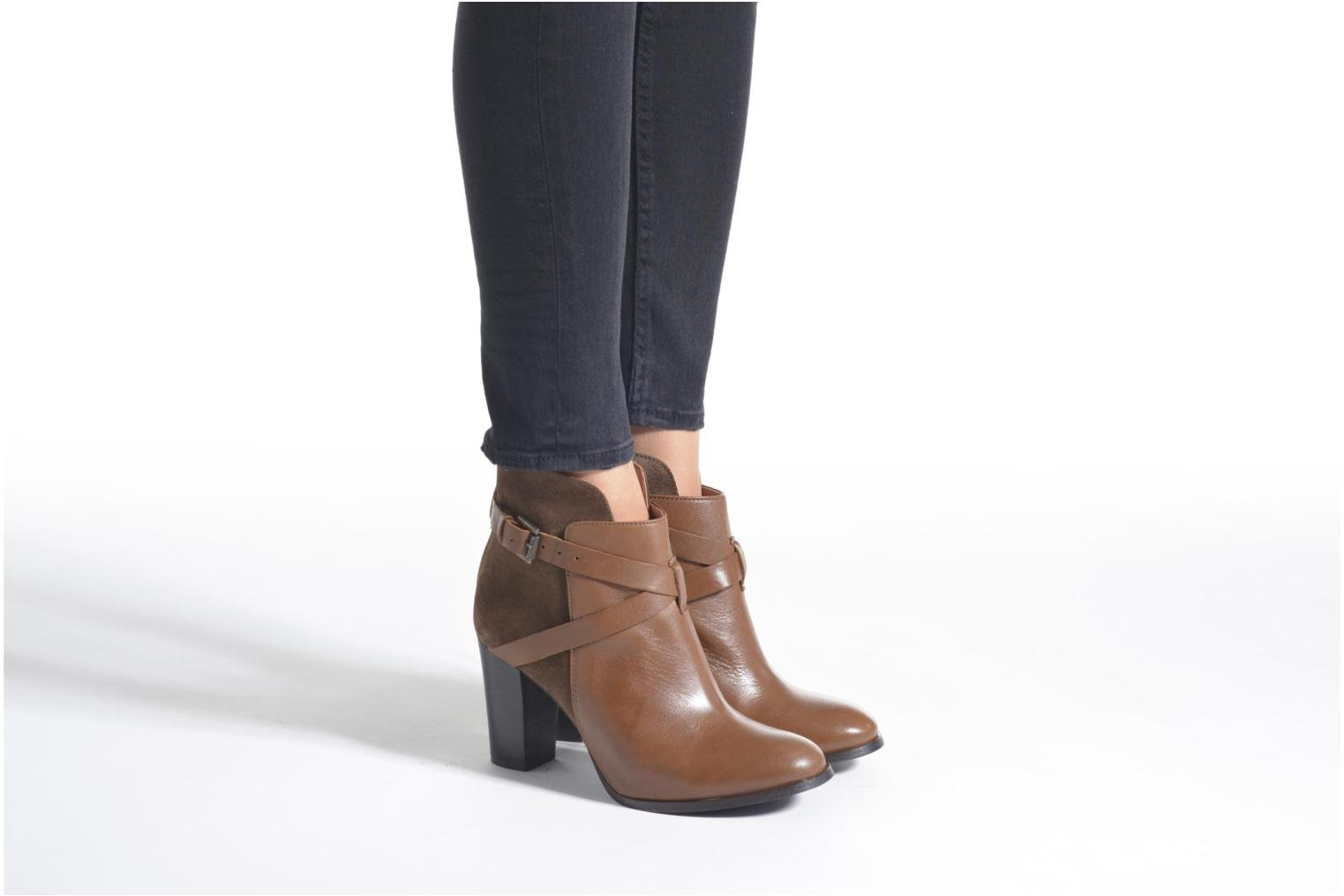 Ankle boots Jonak Drakos Brown view from underneath / model view