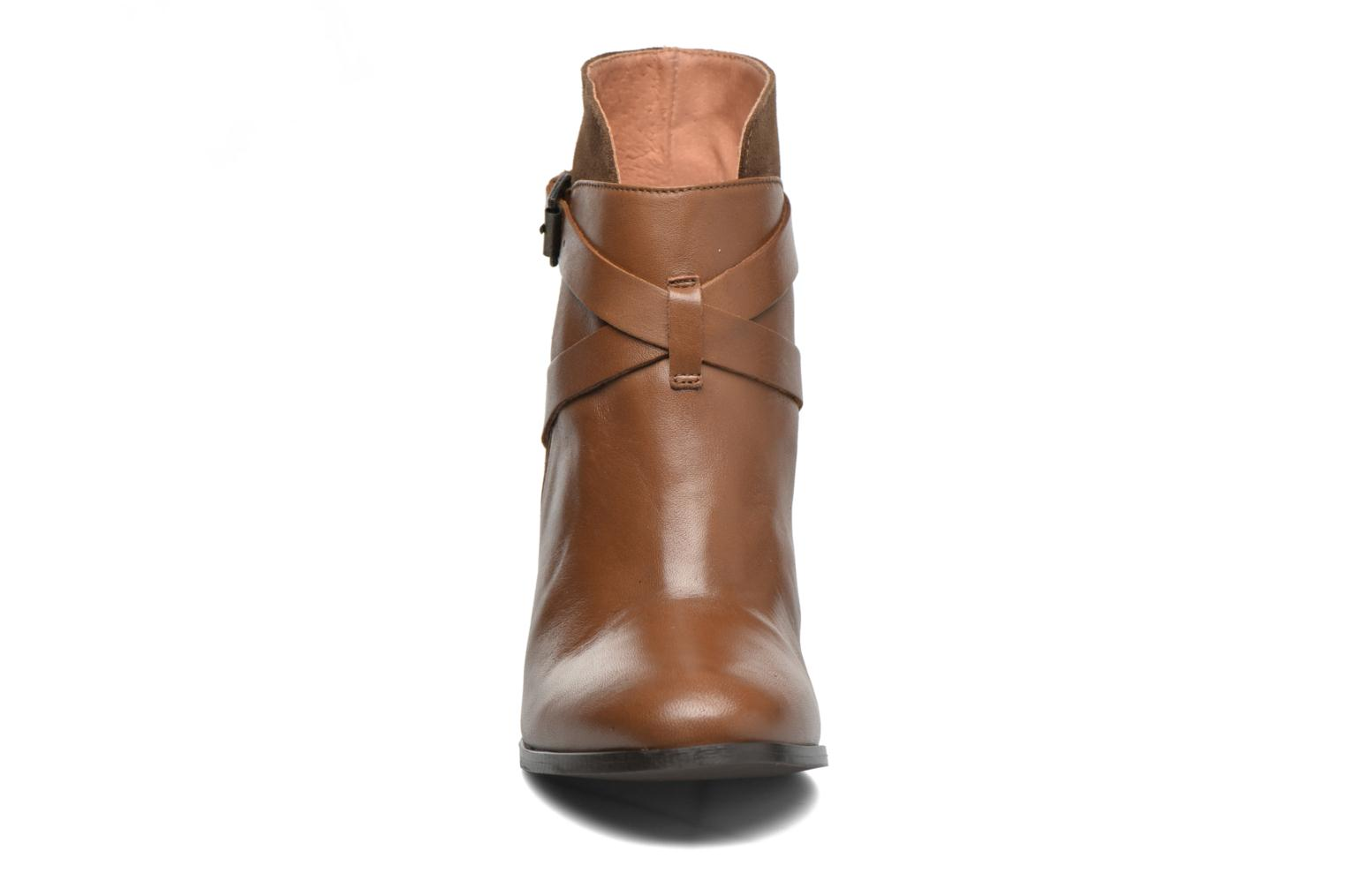 Ankle boots Jonak Drakos Brown model view