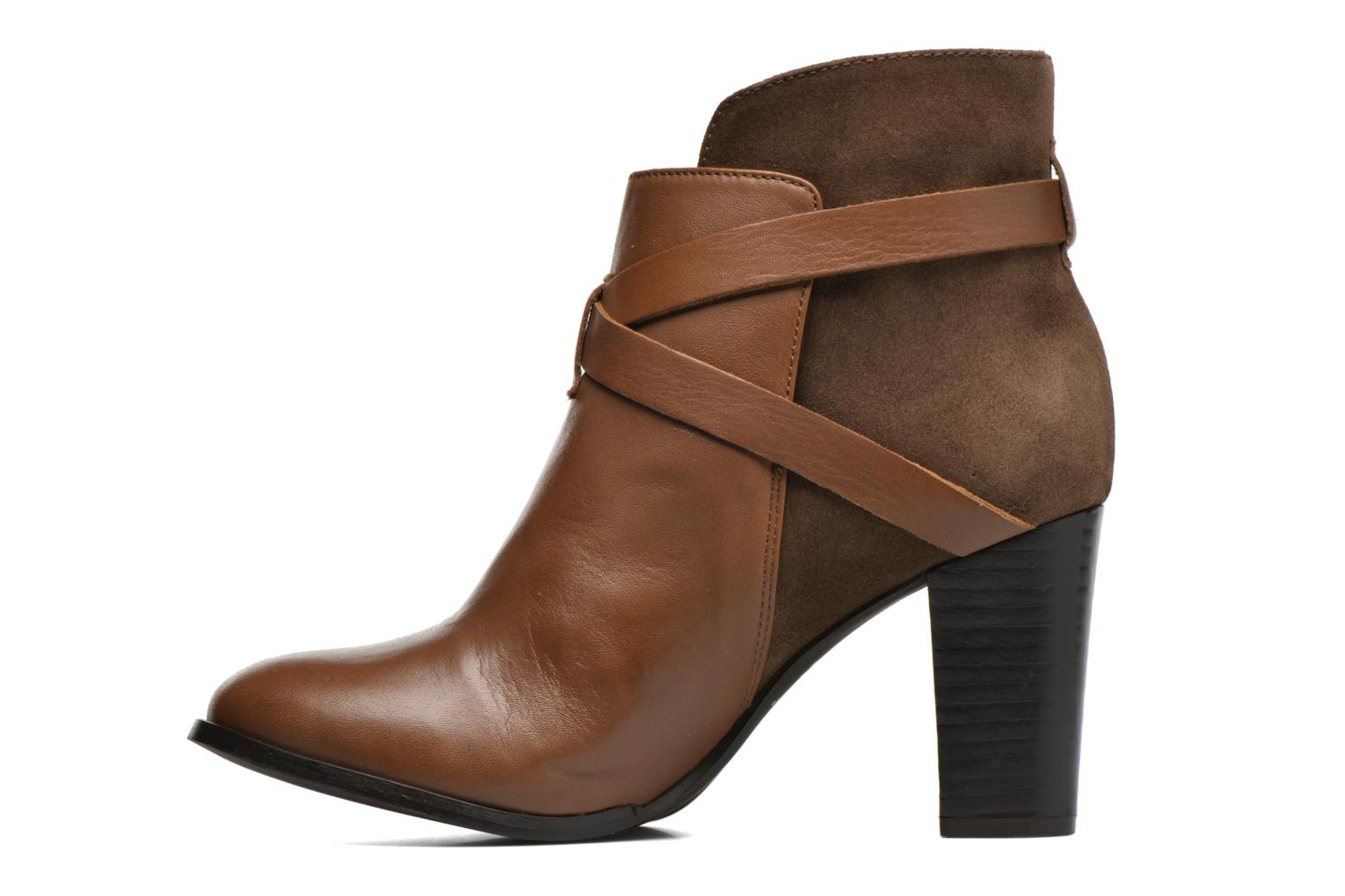 Ankle boots Jonak Drakos Brown front view