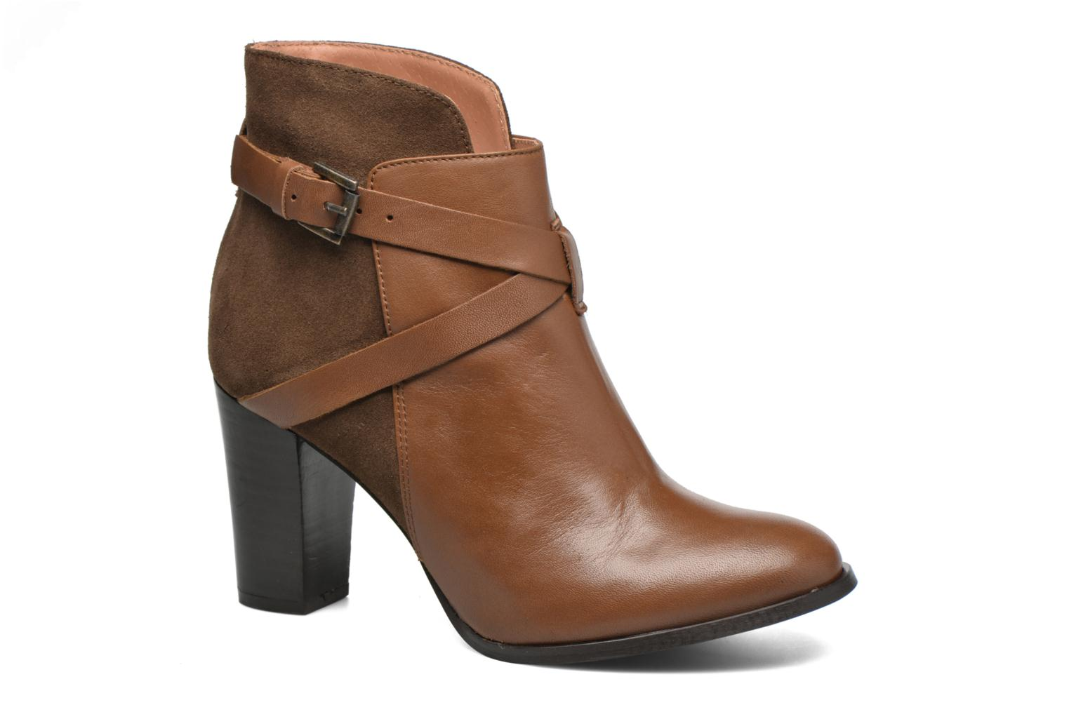 Ankle boots Jonak Drakos Brown detailed view/ Pair view