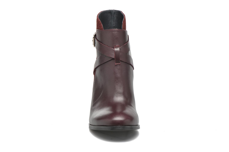 Bottines et boots Jonak Drakos Bordeaux vue portées chaussures