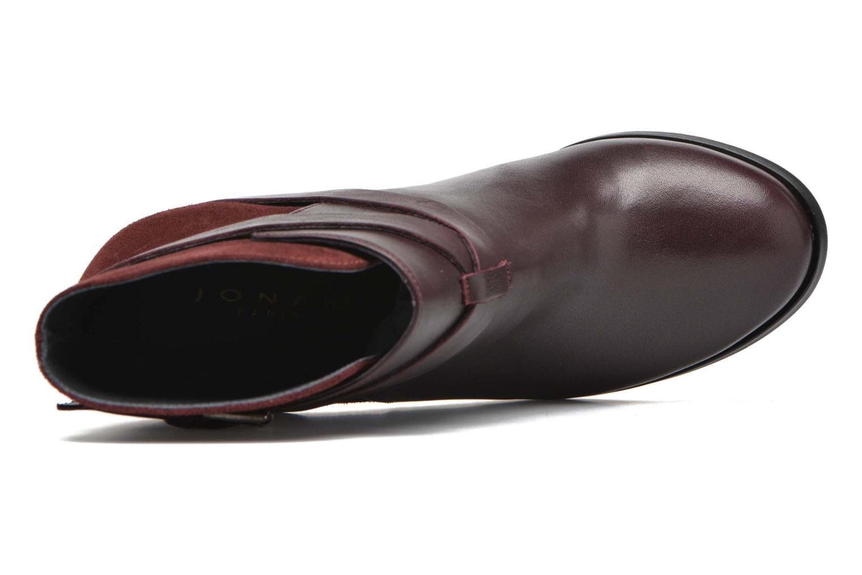 Ankelstøvler Jonak Drakos Bordeaux se fra venstre