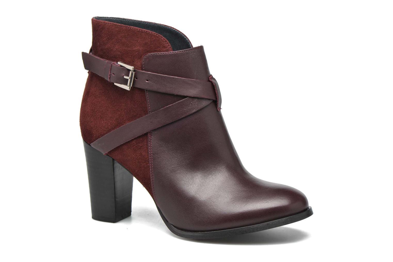 Ankelstøvler Jonak Drakos Bordeaux detaljeret billede af skoene