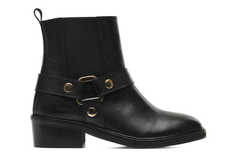 Boots en enkellaarsjes Jonak Imade Zwart achterkant