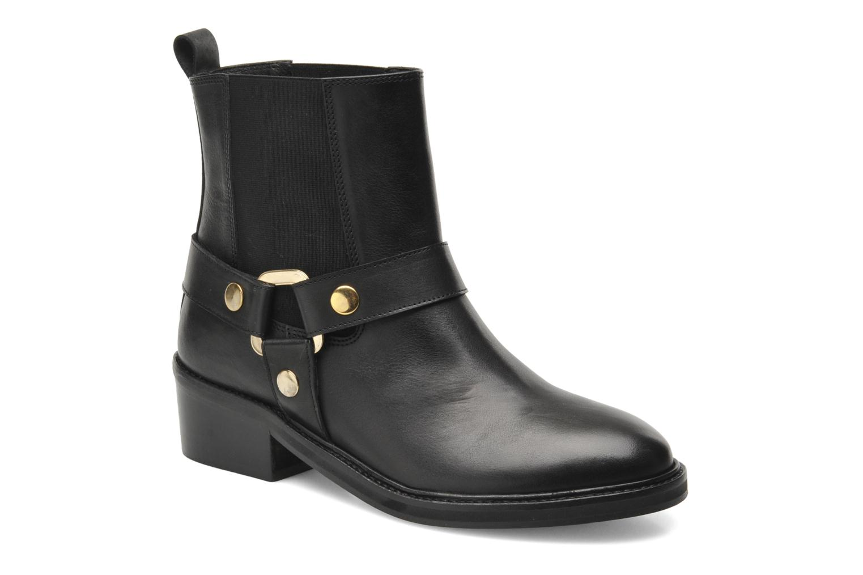 Boots en enkellaarsjes Jonak Imade Zwart detail