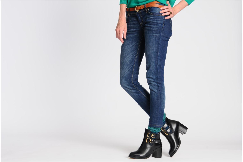 Stiefeletten & Boots Jonak Melville schwarz ansicht von unten / tasche getragen